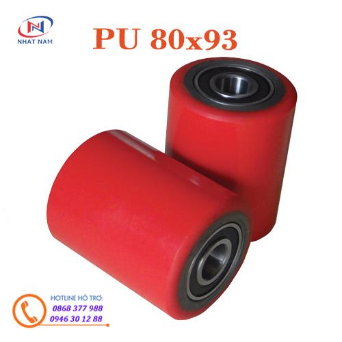 Bánh xe PU80x93mm