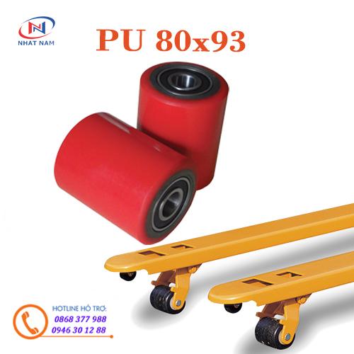 Bánh xe PU 80x93mm