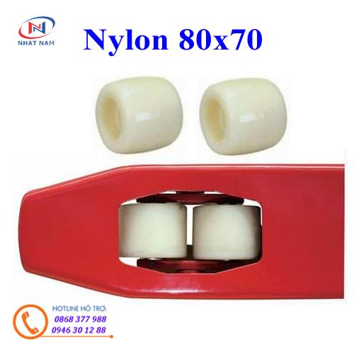 Bánh xe Nylon 80x70mm