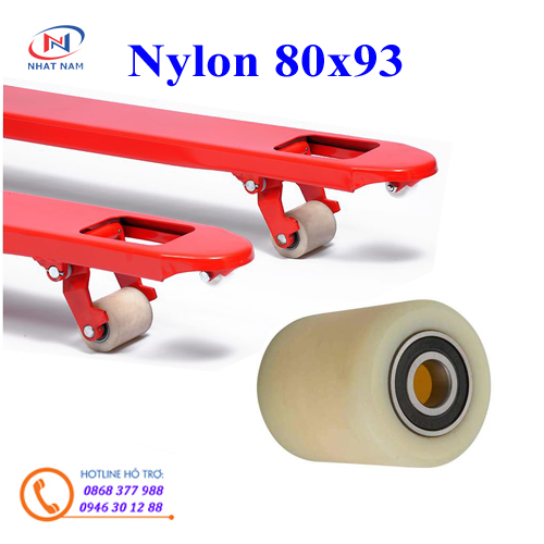 Bánh xe Nylon 80x93mm
