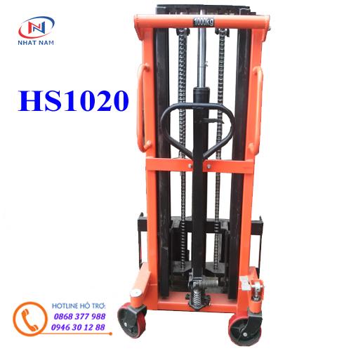 Xe nâng tay cao HS1020 nâng cao 2m